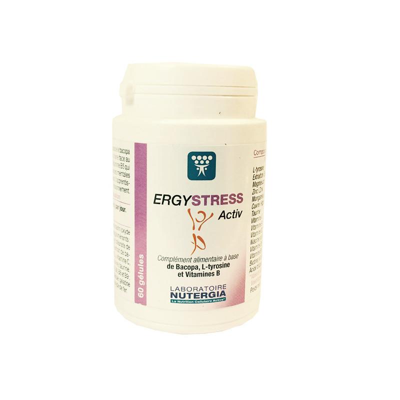 Ergystress Activ Nutergia 60 gélules