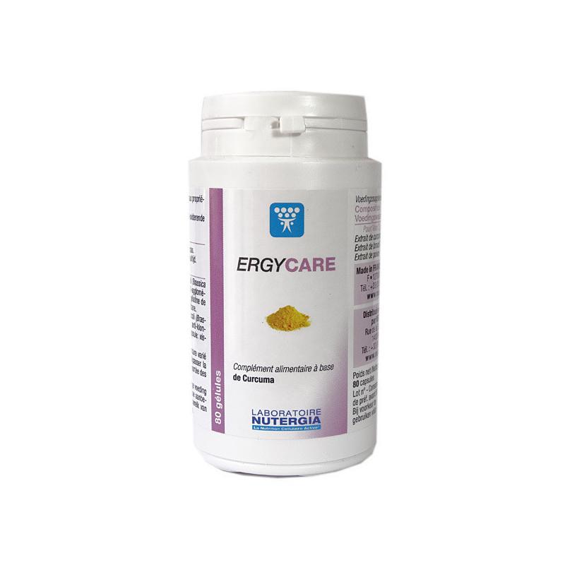 Ergycare Curcuma 60 gélules Nutergia 60 gélules