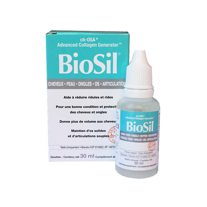 Biosil gouttes Flacon 30ml