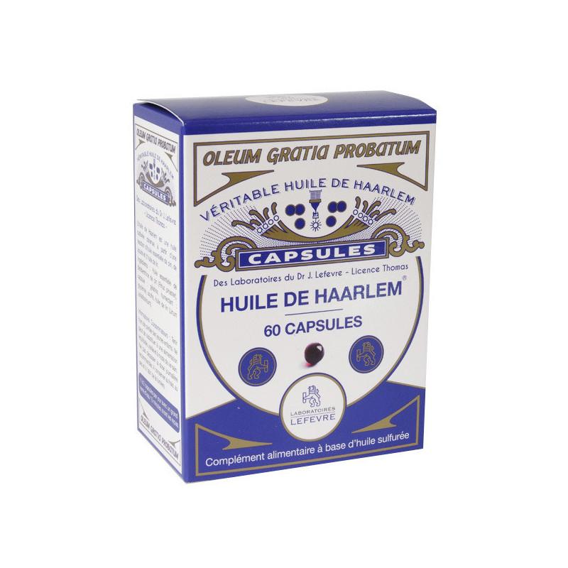 Huile de HAARLEM 60 capsules 60 capsules
