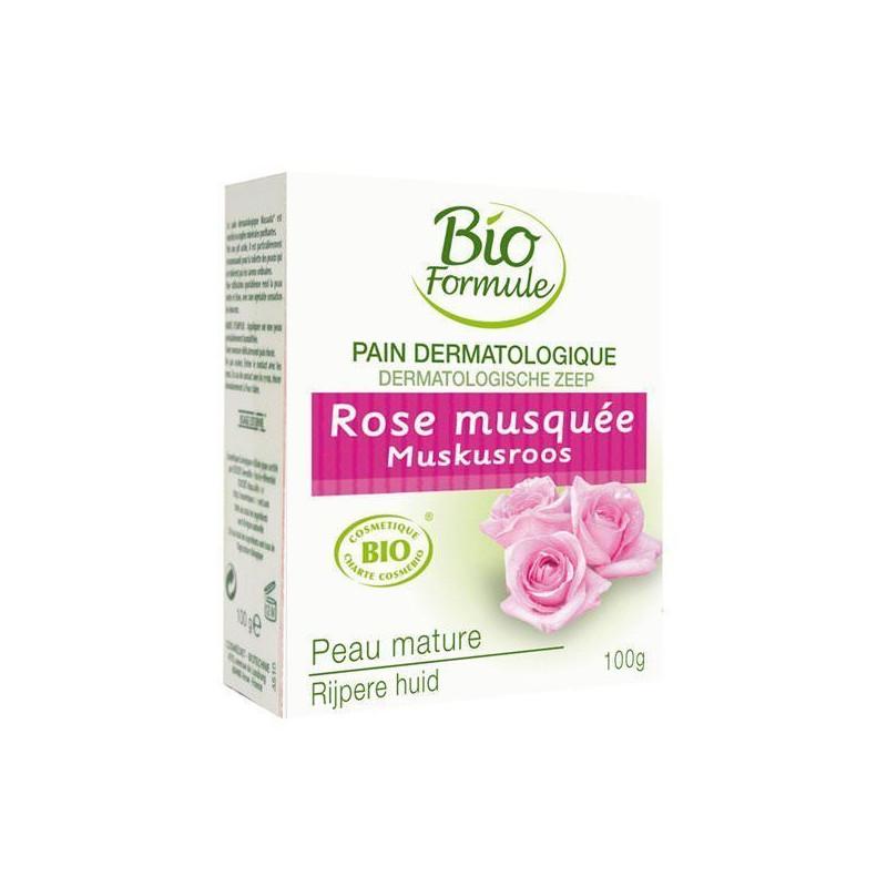 Pain dermatologique Rose Musquée 100g