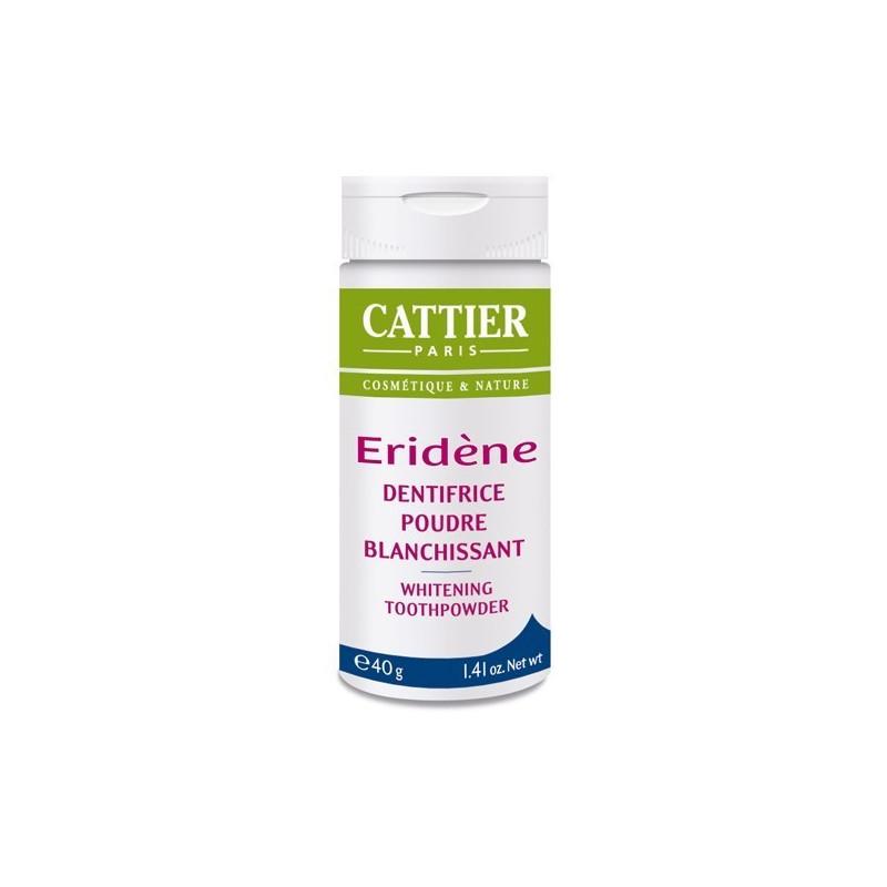 Eridene Cattier dentifrice poudre blanchissante 40 gr