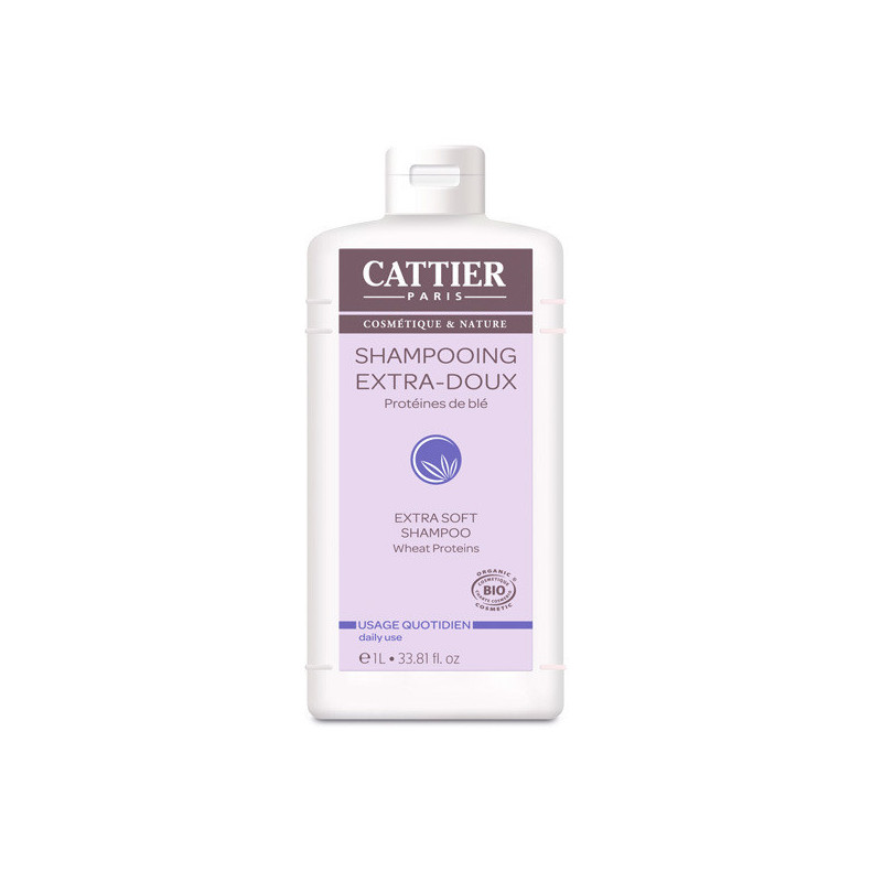 Cattier Shampooing Extra-Doux 1 Litre