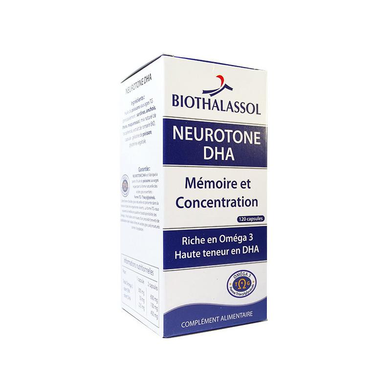 Neurotone DHA 120 capsules Biothalassol 120 capsules