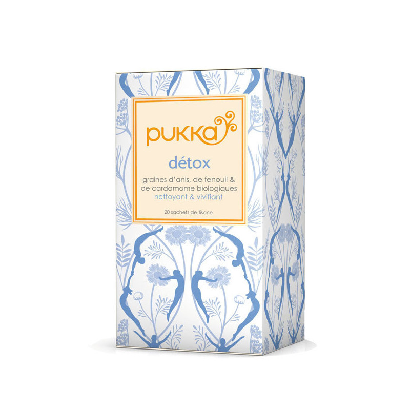 Tisane Pukka Detox citron 20 sachets