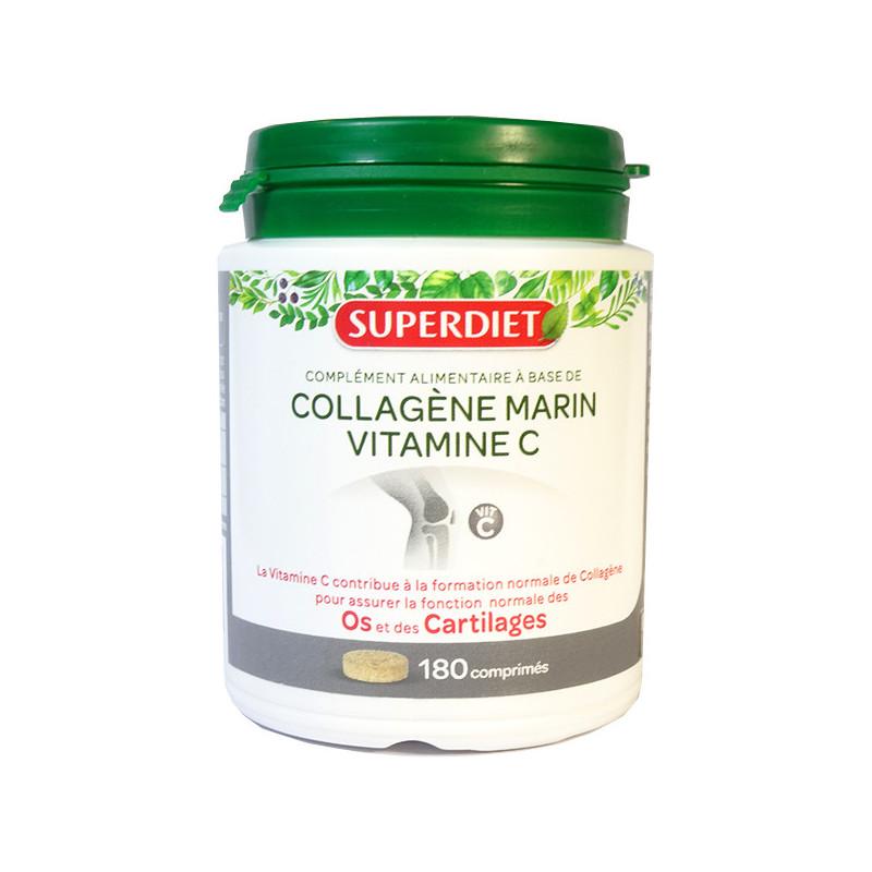 Collagène Marin + vitamine C 180 comprimés