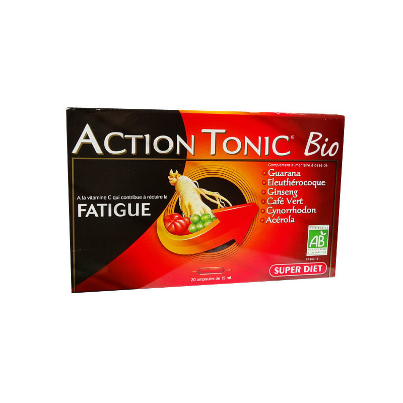 Action Tonic Bio Super Diet 20 ampoules